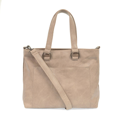 JOY Nancy Zip Top Convertible Shopper