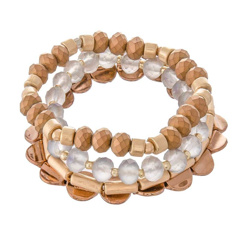 Natural Look Bracelet Stack