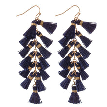 Load image into Gallery viewer, Sheila Tassel Earrings