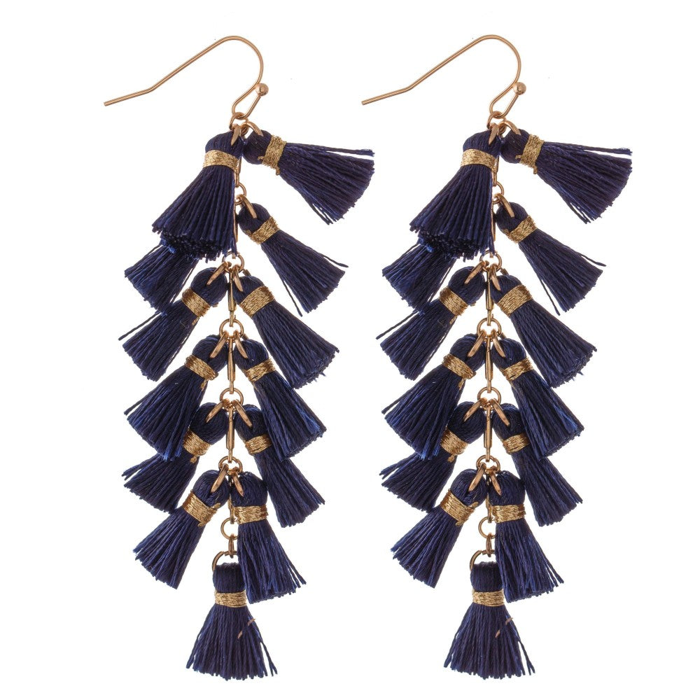 Sheila Tassel Earrings