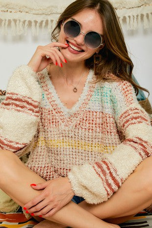 Rusted Rainbow Sweater