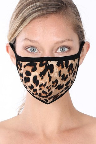 Mask - Softest Mask - Leopard
