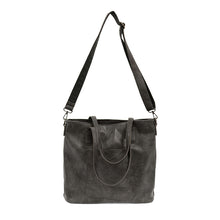 Load image into Gallery viewer, JOY Terri Traveler Zip Tote Handbag