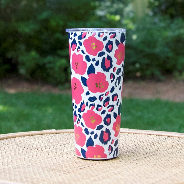 Mary Square - Large Stainless Tumbler