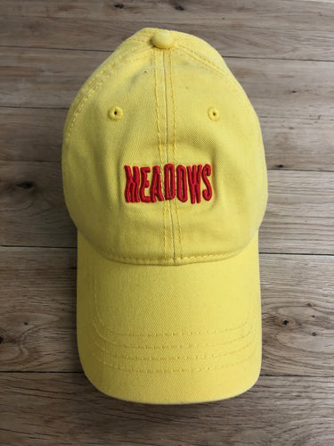 The Meadows Wavy Logo Yellow Dad Hat