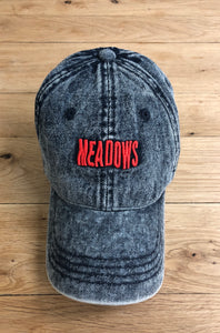 The Meadows Wavy Logo Denim Dad Hat