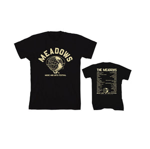 The Meadows 2016 Black Event Tee