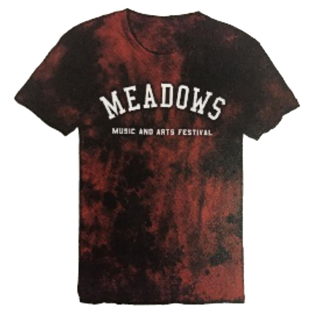 The Meadows Arch Logo Bleached Tee