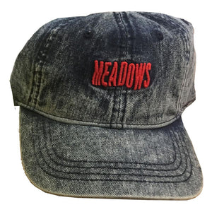 The Meadows Wave Logo Denim Dad Hat