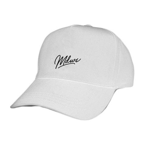 The Meadows Logo White Dad Hat