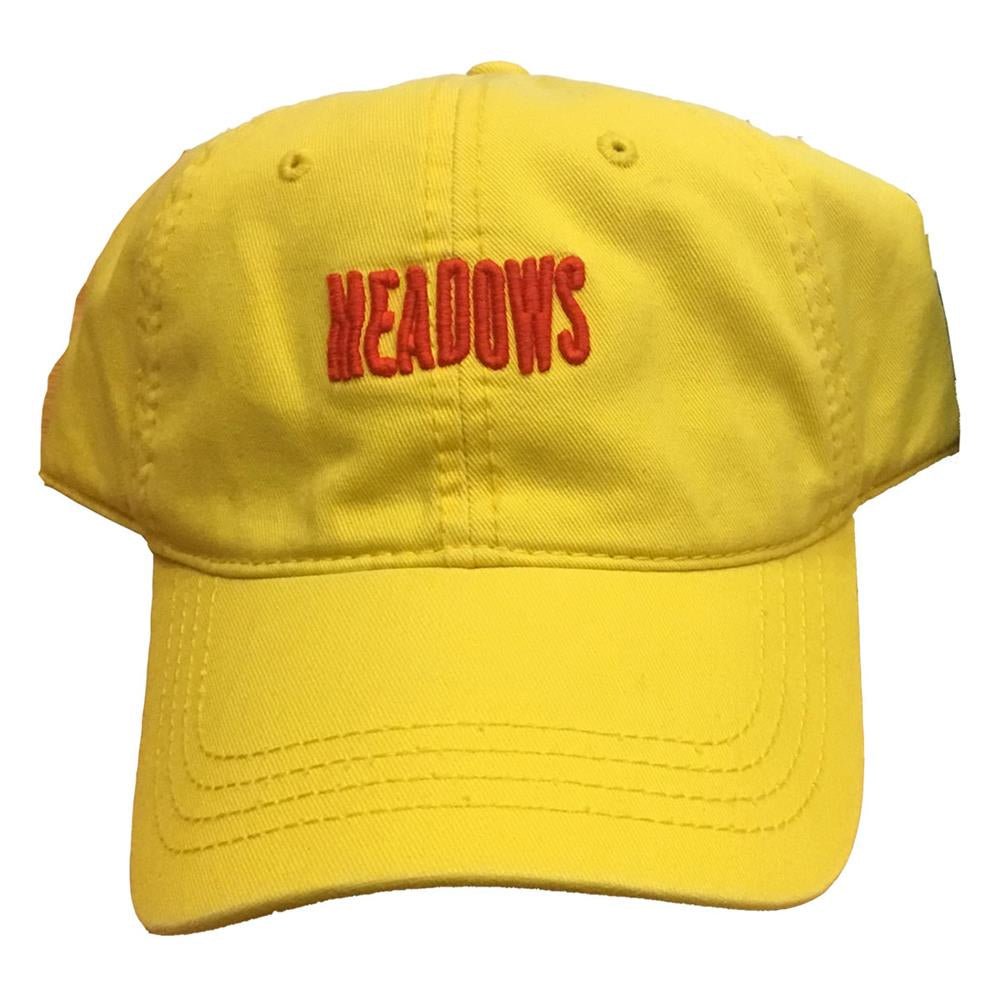The Meadows Wave Logo Yellow Dad Hat