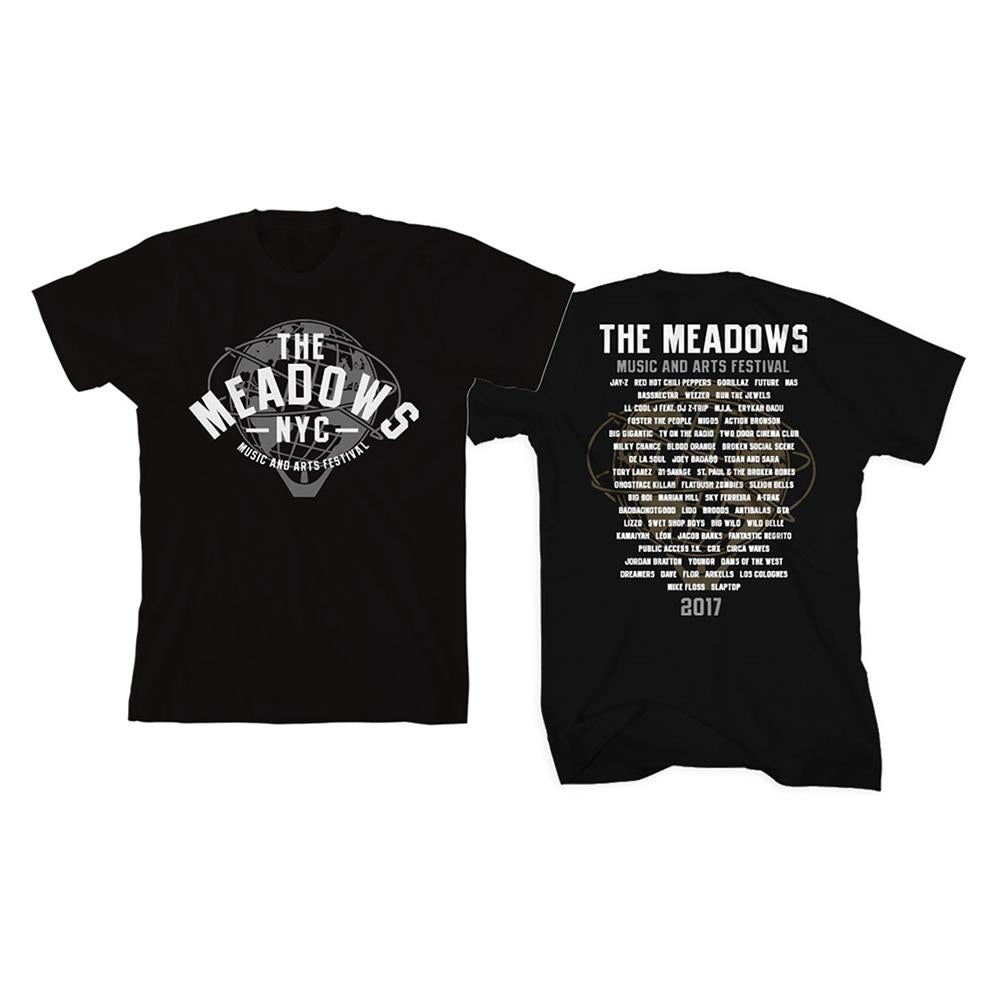 The Meadows 2017 Black Event Tee