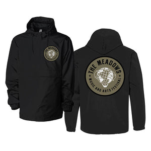 The Meadows Black Rain Jacket
