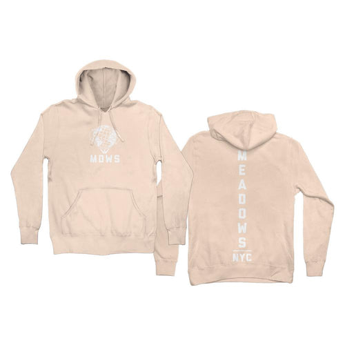 The Meadows Globe Logo Peach Pullover Hoodie