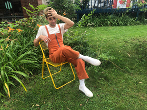 Dungaree, Rust Canvas