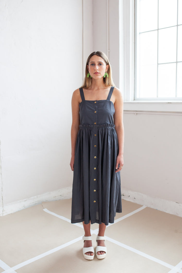 Asphalt Picnic Dress