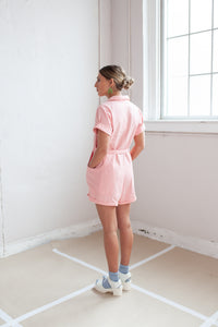 Mini Day Suit in party pink