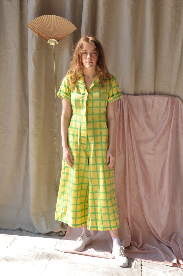 Lemon Grid Day Suit