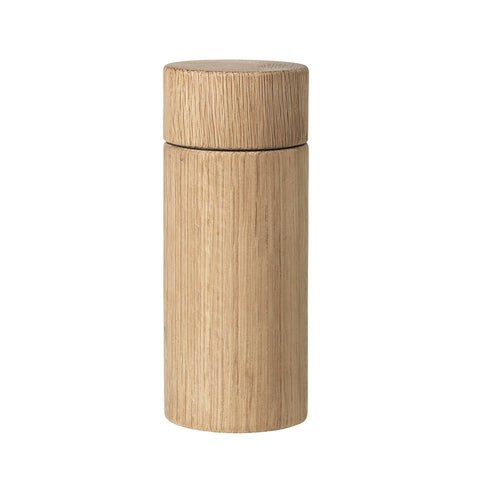 Tall Salt or Pepper Grinder in Natural Oak