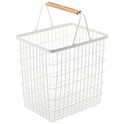 Tosca Laundry Basket Large - White