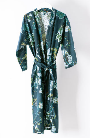 Copy of Bianca Lorenne Capriccio Housecoat - Prussian Blue (S/M)