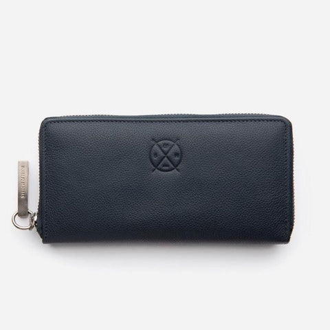 Stitch & Hide Christina Wallet - Deep Sea