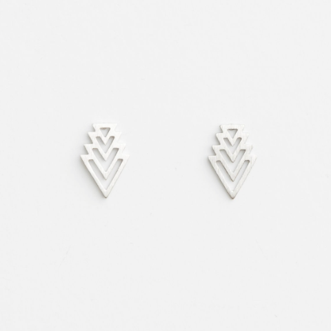 Quadrangle Earring