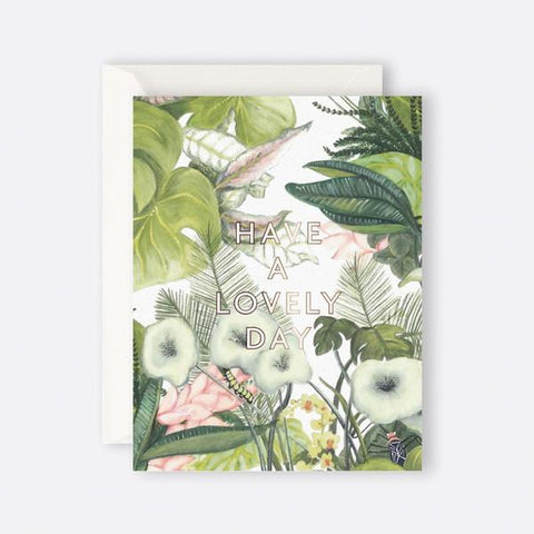 Greeting Card Botanical Have a Lovely Day