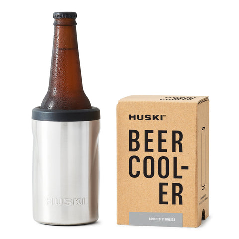 Huski Beer Cooler Brushed Stainless Steel