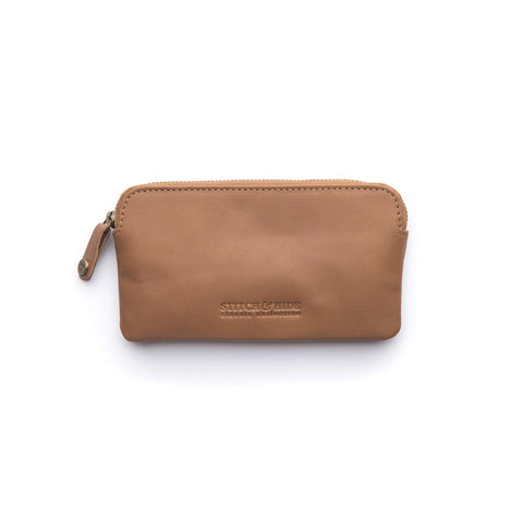 Stitch & Hide Lucy Pouch - Latte