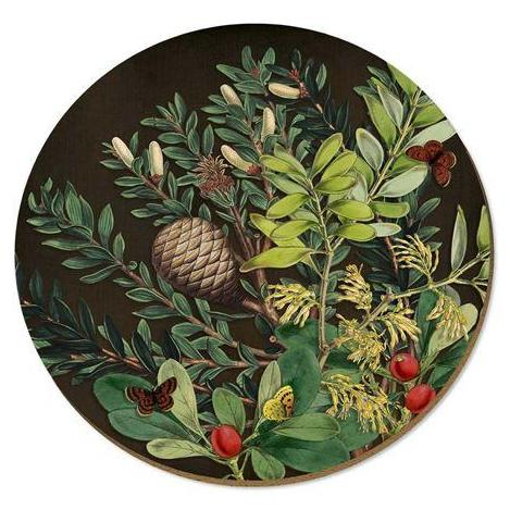 Pine Cone & Berries Placemat