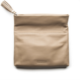 Stitch & Hide Lily Clutch - Dusty Linen