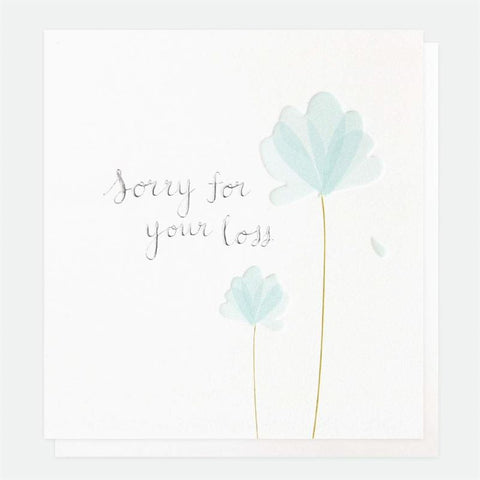Sorry For Your Loss Sympathy Card