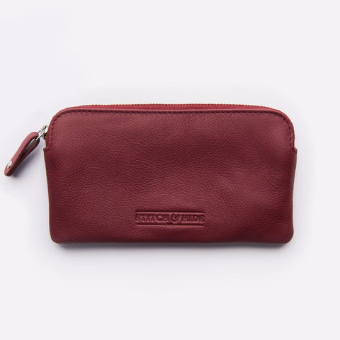 Stitch & Hide Lucy Pouch - Cherry