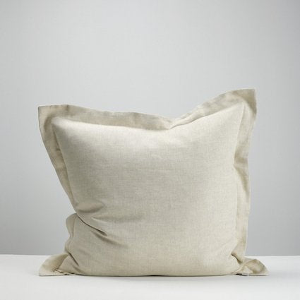Thread Design Linen Euro Pillowcase - Natural