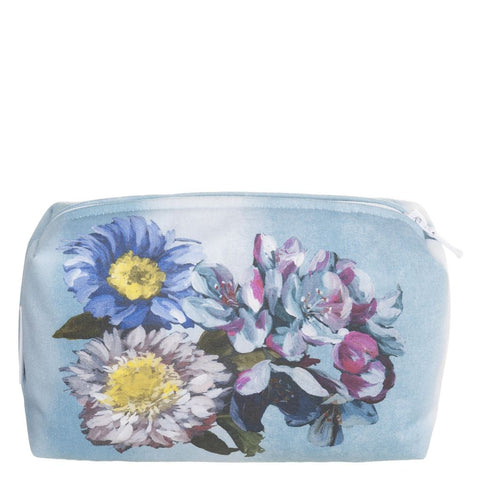 Delft Flower Sky Washbag - Small