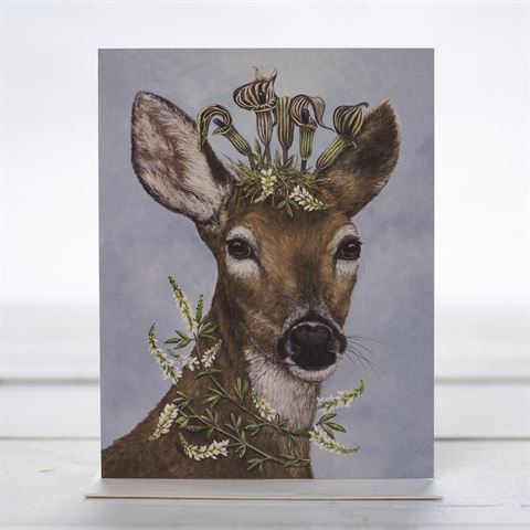 Greeting Card Woodland Princess