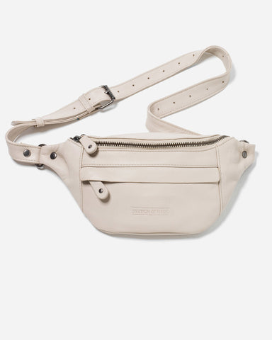 Stitch & Hide Bailey Hip Bag - Ivory