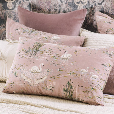 Cigna Dusky Pink Pillowcase