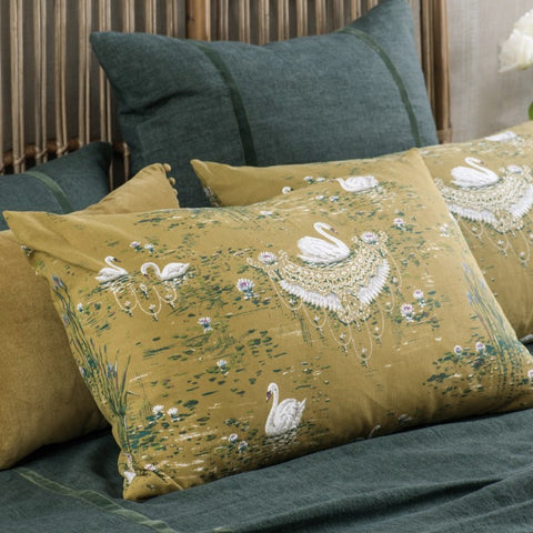 Cigna Olive Pillowcase