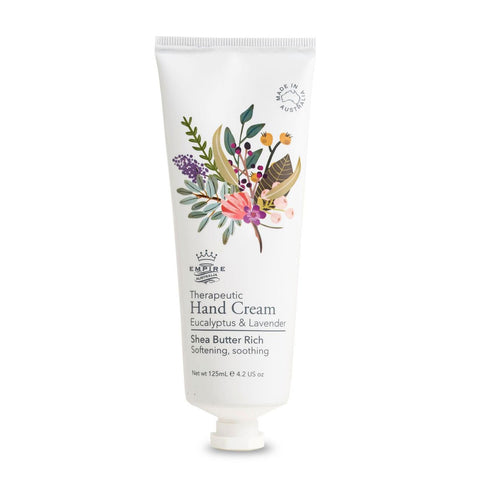 Eucalyptus & Lavender Therapeutic Hand Cream 125ml
