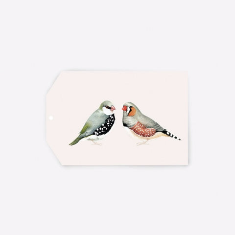 Gift Tag A Couple of Birds