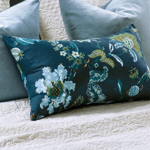 Bianca Lorenne Capriccio Pillowcase - Prussian Blue