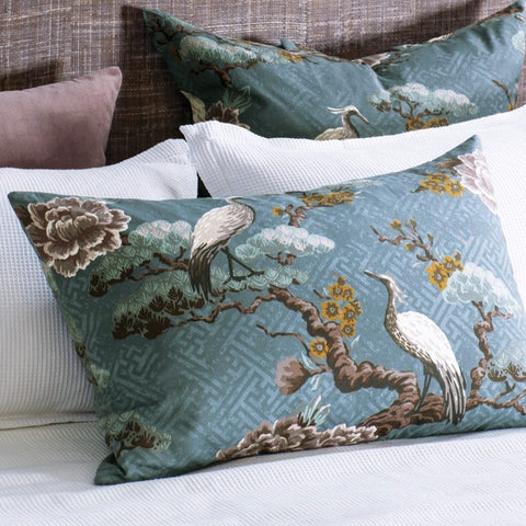 Bianca Lorenne Kuren Ocean Pillowcase