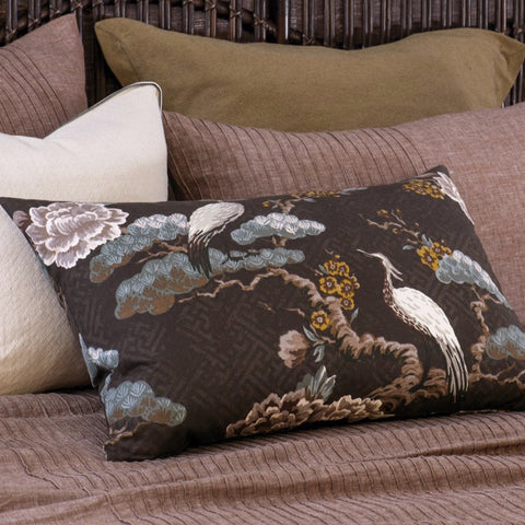 Bianca Lorenne Kuren Walnut Pillowcase