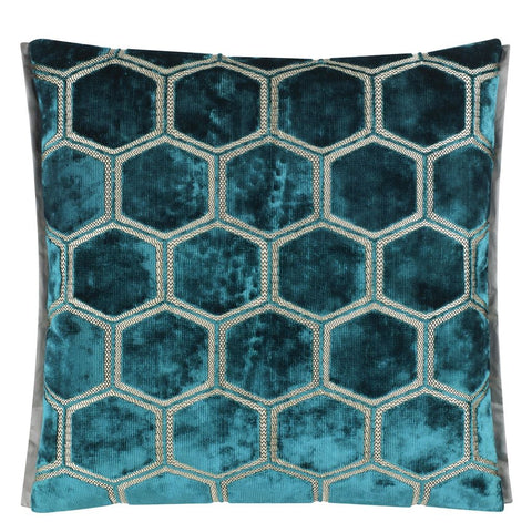 Manipur Cushion - Azure