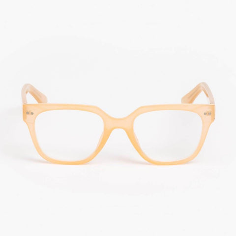 Reader Glasses - Mia Jelly Beige +2.0