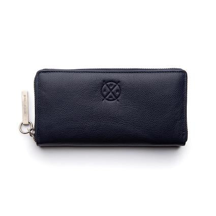 Stitch & Hide Christina Wallet - Navy