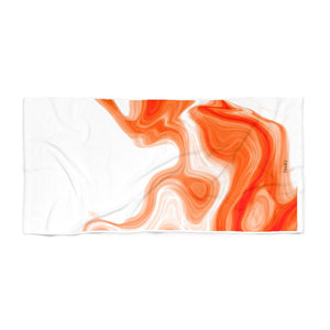Flow Beach Towel