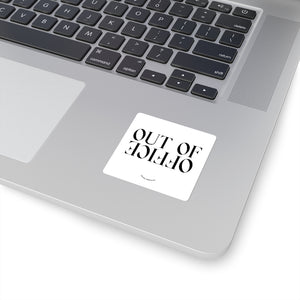 Out of Office Laptop Sticker